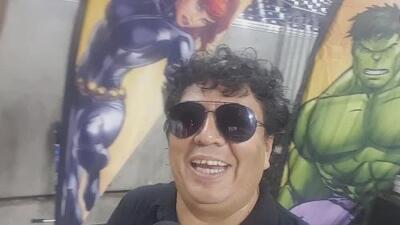 La Carineta  detrás de cámaras en Marvel Universe Live