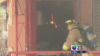 Incendio en restaurante cubano asusta al vecindario de Allapattah