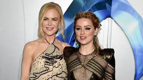 """""""Fue un sueño trabajar con Nicole Kidman"""": Amber Heard habla sobre su papel en 'Aquaman'"""
