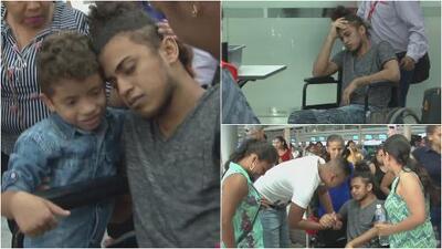 El emotivo retorno a Honduras de un joven migrante que fue diagnosticado con leucemia a su llegada a México