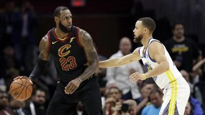Regalo navideño de la NBA: otro duelo de LeBron James vs. los Warriors