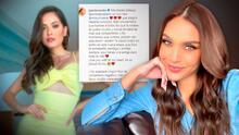 """Miss Perú se comporta """"como una reina"""" al defender del ciberacoso a la Miss Universo Andrea Meza"""