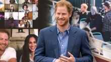 El príncipe Harry se revela como amante de la poesía (después de grabar con James Corden)