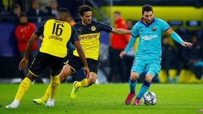 Borussia Dortmund desaprovecha y empata a cero con Barcelona