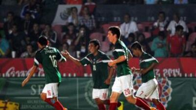 México derrotó a Jamaica 5-0