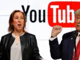 Así puede Trump recuperar su cuenta de Youtube, según la directora ejecutiva de la empresa