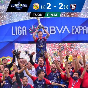 ¡Levantan el título! Tepatitlán celebra ante Morelia en la Liga de Expansión