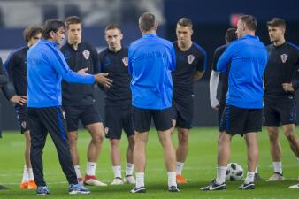 Rakitic y Kovacic comandaron el último entrenamiento de Croacia antes de enfrentar al Tri