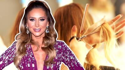 Novio nuevo, imagen nueva: Geraldine Bazán le dijo adiós a su larga cabellera