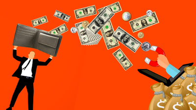 """Cómo """"hacerse rico"""" perdiendo dinero"""