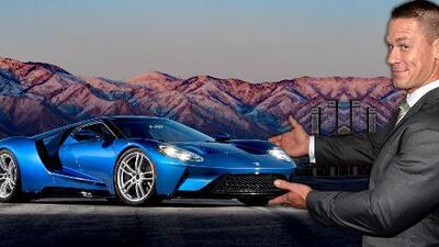 Nadie sabe donde está el Ford GT de John Cena