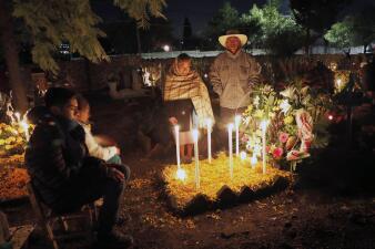 📸El Día de Muertos en México, un agasajo que da la bienvenida a los difuntos que regresan una vez al año