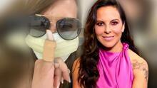 """Kate del Castillo celebra que vuelve a ser una """"persona normal"""" porque le quitaron su """"dedito biónico"""""""