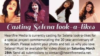 Realizan un video-homenaje a 20 años de la muerte de Selena