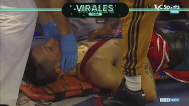 Walter Matthysse sufre un estremecedor nocaut y fue llevado al hospital