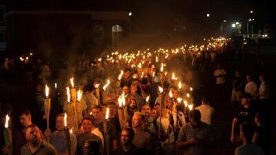 Una nueva generación de supremacistas blancos ha nacido en Charlottesville