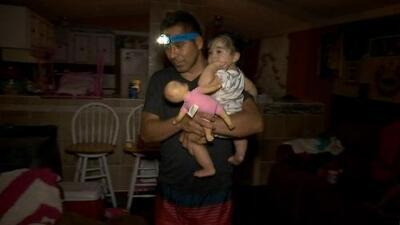 Estas familias hispanas decidieron no evacuar, así viven tras el paso del huracán Florence