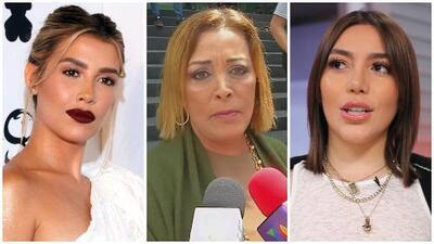 """Sylvia Pasquel """"solo tiene amor"""" para Michelle Salas y Frida Sofía a pesar de los escándalos familiares"""