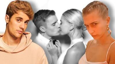 """Así detuvo Justin Bieber un ataque de besos de Hailey: """"No mas amor, ahora estamos casados"""""""