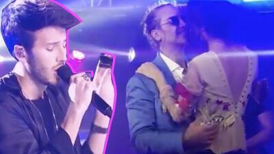 El romántico momento de Sebastián Yatra cantando para Alejandro Fernández y su novia