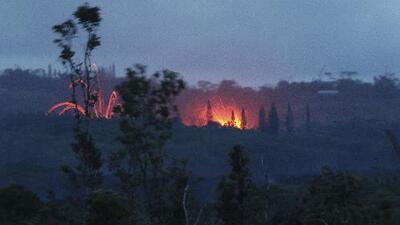 Evacuaciones masivas y alerta roja en Hawaii por una nueva erupción del volcán Kilauea