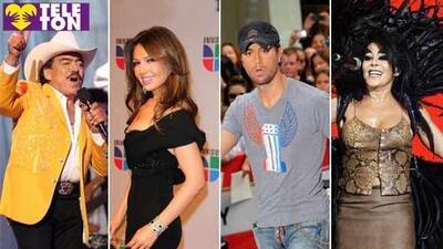 Thalía, Enrique Iglesias y Alejandra Guzmán cantarán en el Teletón