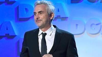 Conmovido, Alfonso Cuarón expresa lo que significa para él recibir un reconocimiento de otro mexicano