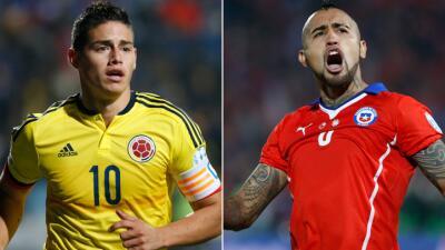 Chile va por la consolidación y Colombia por la recuperación