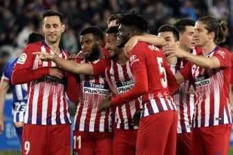 En fotos: Atlético de Madrid no pierde la fe luego de aplastar al Deportivo Alavés