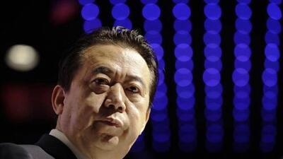 Desaparece el jefe de la Interpol tras viajar a China