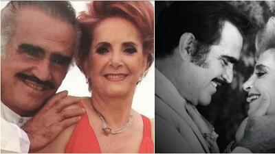 Vicente Fernández felicita a Doña Cuquita por su cumpleaños