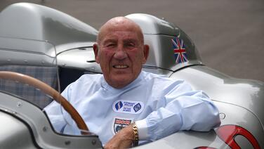 Fallece leyenda de la Fórmula Uno, Sir Stirling Moss
