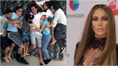 Este es el cariñoso mensaje que Jennifer López envió a Marc Anthony por la muerte de su mamá