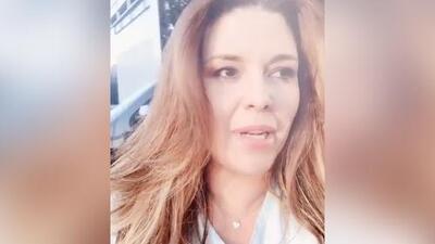 """""""Mi alma qué susto"""": Alicia Machado corre a la calle en toalla tras el sismo en la Ciudad de México"""