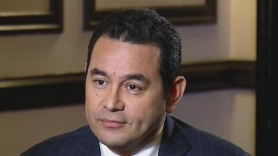 Piden retirar la inmunidad a Jimmy Morales: ¿se reedita una crisis política en Guatemala?