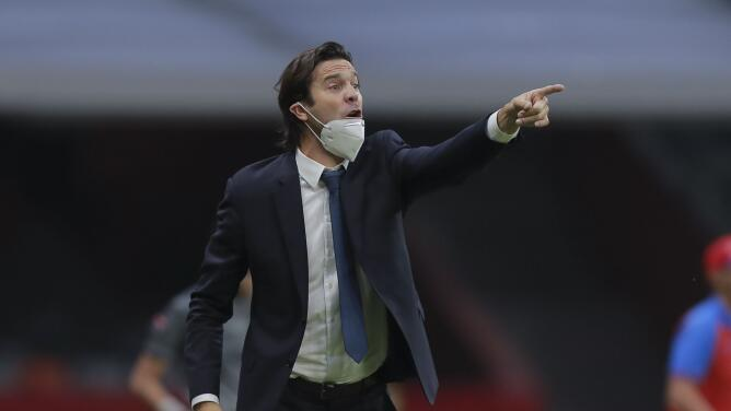 Un molesto Solari le pide a Concacaf que proteja la salud de los jugadores
