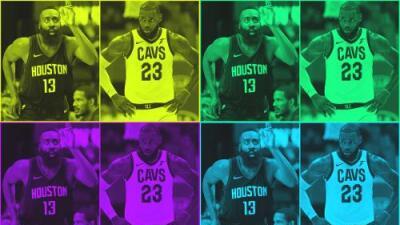 LeBron James y James Harden son los jugadores del mes de la NBA
