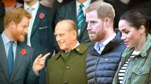 Harry asistirá al funeral de su abuelo, pero Meghan Markle NO
