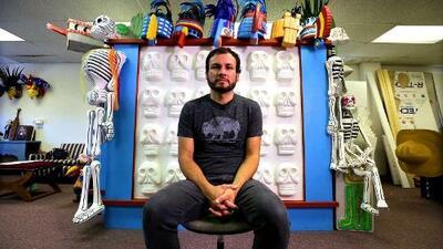 Fernando, un escultor que triunfa en EEUU y afirma que todo el arte que crea se lo debe a su mexicanidad
