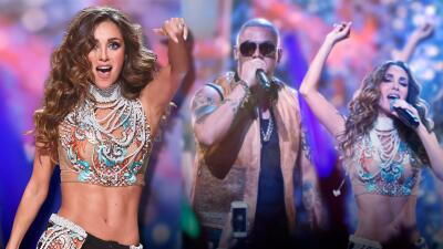 El espectacular regreso de Anahí a Premios Juventud (sin RBD y colapsando el escenario)