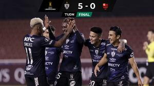 Independiente le propina al Flamengo su peor derrota internacional