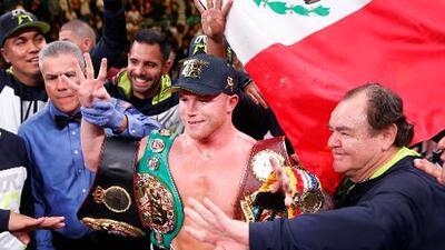 ¡Canelo, tetracampeón del mundo! El mexicano noqueó a Kovalev