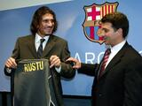 Rustu Recber, exportero del Barça, dado de alta por coronavirus