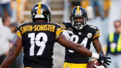 JuJu Smith-Schuster reemplazará a Antonio Brown en el Pro Bowl