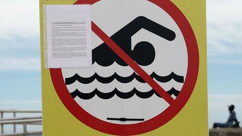 Aconsejan a bañistas no entrar en aguas de la Sunny Isles Beach por contaminación