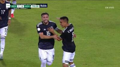 ¡GOOOL! Héctor Herrera anota para Mexico