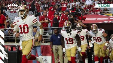 Los 49ers siguen invictos y al tope de nuestros Power Rankings TUDN