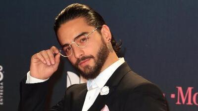 Una noche de besos para Maluma: el de su novia y el de Marc Anthony