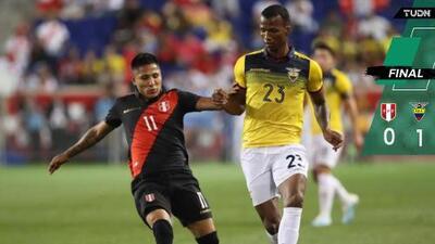 Ecuador vence a Perú con bastante presencia de la Liga MX