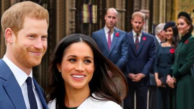 Así fue cómo Meghan y Harry se volvieron a unir a Kate y William tras haber separado sus objetivos benéficos